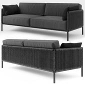 Encore Modern Garden 3 Seater Lounge Sofa