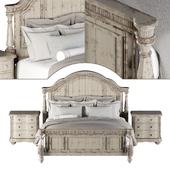 ART FURNITURE BELMAR PANEL BED (KING SIZE)