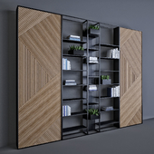 Metal & Wood shelf