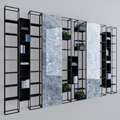 Metal & Marble shelf