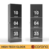 High tech clock