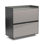 Minotti Darren Bar Cabinet With 1 Flap Door And 1 Drawer