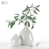 Bouquet in vase IKEA LIVSVERK