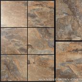 Yurtbay Seramik Key Stone Brown 450x450
