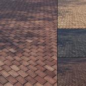 Brick paving slabs Type 1
