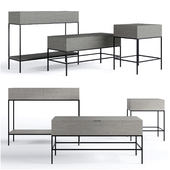 West Elm console collections