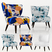 WE retro wing chair