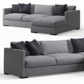 Belmon Corner Sofa by Meridiani