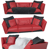 The three-seater sofa Sepang - Tonino Lamborghini