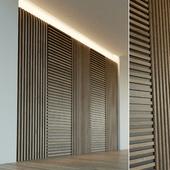 Стеновая панель из дерева. Декоративная стена. 44