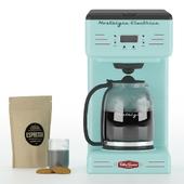 Nostalgia RCOF120AQ Retro 12-Cup Coffee Maker