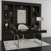 classic Office furniture boss room