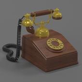 A vintage phone