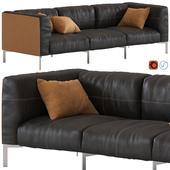 Poltrona Frau Bosforo Sofa 3-seater