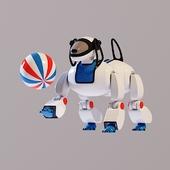 Toy dog robot