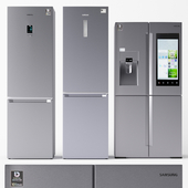 Набор холодильников Samsung 2