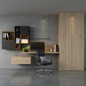Home office ikea set