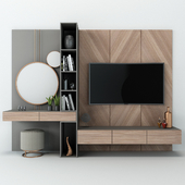 TV Wall set 07