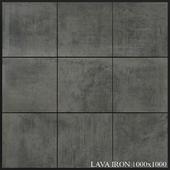 Grespania Coverlam Lava Iron 1000x1000