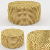 Golden coffee table Thai Natura