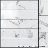 Yurtbay Seramik Classic Calacatta 300x600 Set 1