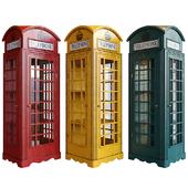 Шкаф-витрина London telephone box