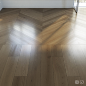 Parquet set 03 / Natural Oak / 2 types
