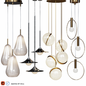 Four Pendant Lights amazing set vol.16