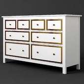 Ikea Hemnes White Drawer Dresser