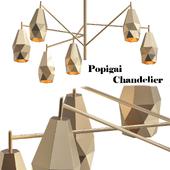 Popigai chandelier