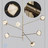 Welles Long Chandelier Loft Concept