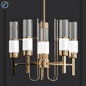 China glass chandelier