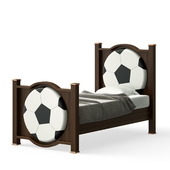 OM Children's bed from the Football collection