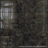 Yurtbay Seramik Alpha Antracite 300x600 Set 3