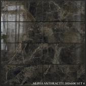 Yurtbay Seramik Alpha Antracite 300x600 Set 4