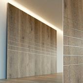 Стеновая панель из дерева. Декоративная стена. 48