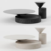 Laurel tables by Hammer and Spear
