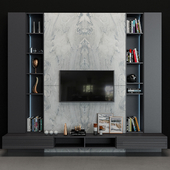 TV Wall set 08