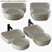 Bathroom collections: Artisan above counter basin