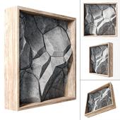 Stone wall frame / Каменная стена в раме