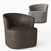 ARDEN LEATHER SWIVEL CHAIR