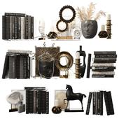 Decorative shelf filling set 6