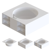 Agape In-Out Bathtubs 02
