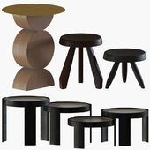Side tables collection #5 : Cassina