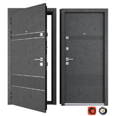 Entrance metal door Louna (Zimen)