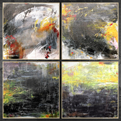 Paintings abstract | set 452