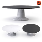 Massproductions Colossus Table Oval, Colossus Table Round