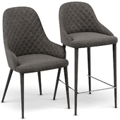 Modani Alpine Gray Chair