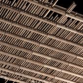 Bamboo ceiling / Потолок из бамбука