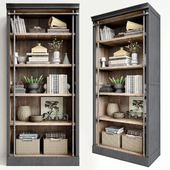 Rack Pottery Barn Gavin Reclaimed Wood Bookcase